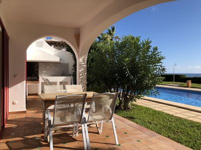 Photo for PEACEFUL AND SUNNY FRONT LINE APARTMENT IN PORTOCOLOM