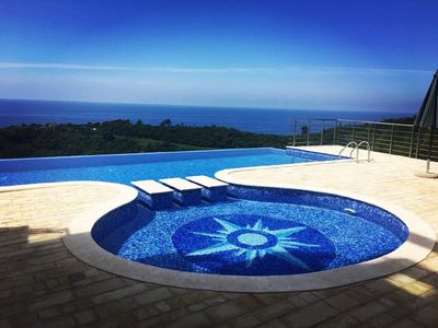 Photo for Altezza17: Stunning, Panoramic sea view and pool. Peace & Queit. Luxury.