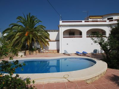 Photo for Beachnear holiday home, private pool, air condition, dishwasher, quiet area