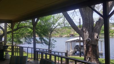 Photo for PECAN SHADED WATERFRONT, LARGE BACK DECK, BOAT DOCK
