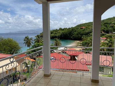 Photo for Anse Dufour: Apartment F2 with sea view