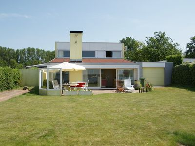 Photo for Holiday home in exclusive location on the Veerse Meer, private jetty, 4 Bedroom