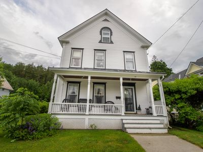 Photo for Remodeled Victorian home close to skiing & golfing - long-term renting available