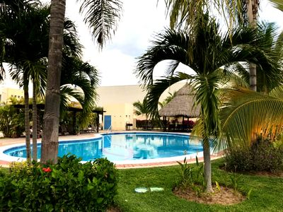 Photo for Cozy home with pool, close to the beach - Nuevo Vallarta