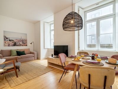 Photo for Brand new one-bedroom in downtown Lisbon