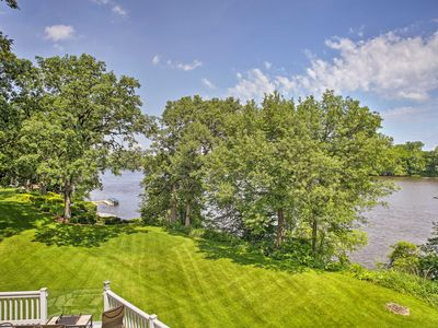 Photo for Waterfront Champlin House w/ Picturesque Views!