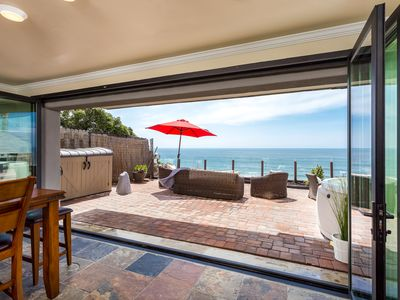 Photo for Oceanfront Rental, patio, spa, all amenities included Designer Decorated & AC