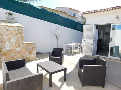 Photo for T2 air conditioned large terrace, near beach, 4 people