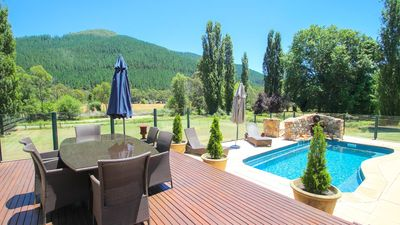 Photo for Mill Cottage : Mountain views & luxurious serenity