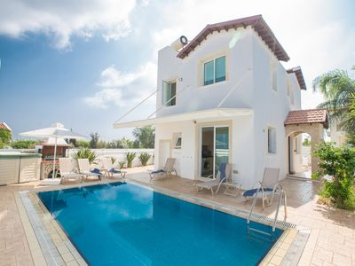 Photo for Villa Elli, Charming 3BDR Pernera Villa with Pool, Walking Distance to Beach