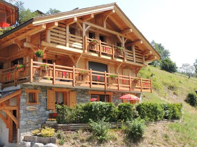 Photo for Quiet And Sunny Apartment With View Of The Aravis Range