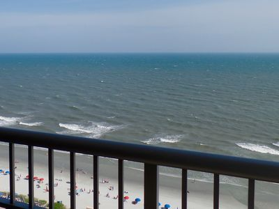 "Photo for ""Magnificent Ocean view"" 3 Bedroom Condo For Golf Enthusiasts And Beach Love"