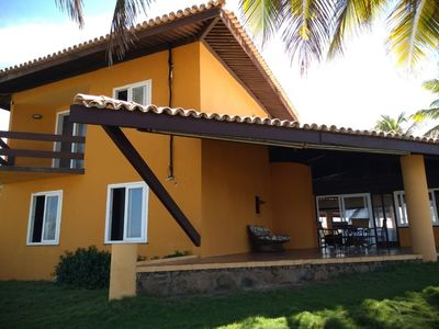 Photo for House on the beach front in gated community. Comfort, Space and Safety.