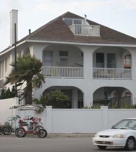 Seawall House is located on Galveston's Seawall at 18th Street