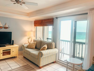 Photo for Beautiful Gulf Front Condo! 30A & PCB