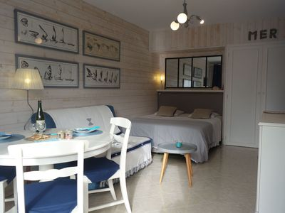 Photo for Lovely apartment for 2 people with WIFI and TV