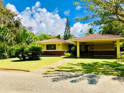 Photo for ★☆Secluded Tropical Garden with Golf View Near Beach