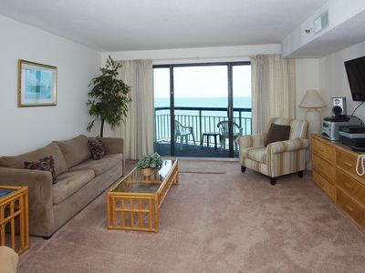 Photo for THE OCEANS of North Myrtle Beach... spacious oceanfront condos