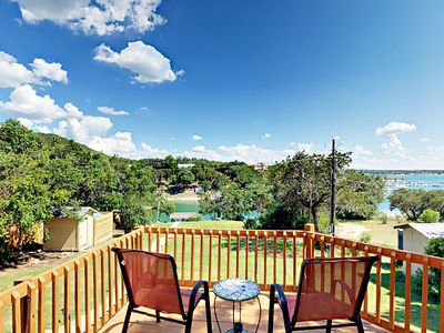 Lakeside Home in Village of Volente w/ Spacious Deck & Hot Tub