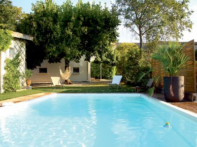 Photo for House with pool in nice quiet village. Gates of the Cevennes. Anduze close