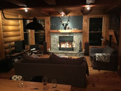 Photo for Scandinavian log cottage in Mont-Tremblant, all seasons activities