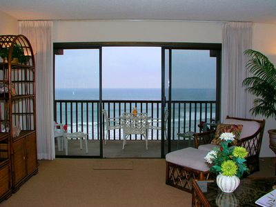 Photo for Tropical Island Feel! 2 BR Oceanfront Condo In The Del Mar Beach Club DMBC823