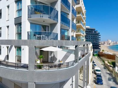 """Photo for Beach front Apartment """"Melior"""""""