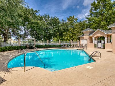 Photo for Family-friendly condo on golf course w/ shared pool & close to the beach!