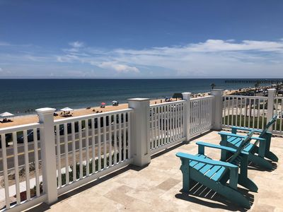 Photo for Fantastic View! Brand New Oceanfront Beach House; Steps from the Beach!