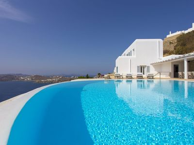 Photo for BlueVillas | Villa Carmina | Private infinity pool & jacuzzi with panoramic view