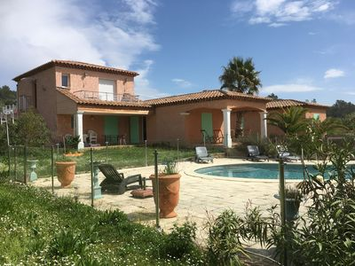 Photo for THE GREAT SOUTH VILLA 16 people with swimming pool and garden bowling and terrace