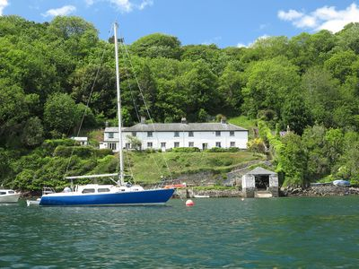 Photo for Cottage with spectacular views from the terrace - accessible by ferry or boat!