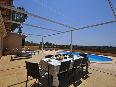 Photo for SA NINA - Finca for 6 people in Bunyola, Mallorca- Private Pool. Air conditioner. BBQ -93597  - Free Wifi