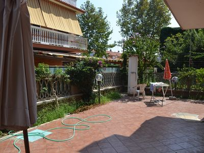 Photo for Holiday apartment with garden