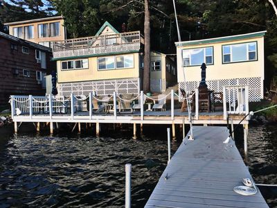 Photo for Waterfront Family Compound on Lake Winnipesaukee Now reserving Summer 2017