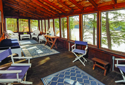 Screened In Porch Lake View