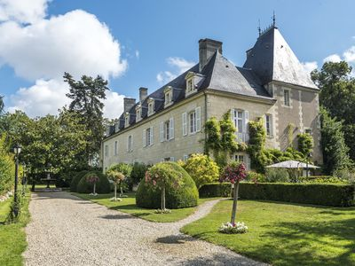 Photo for 11 bedroom Chateau, sleeps 22 with Pool and FREE WiFi