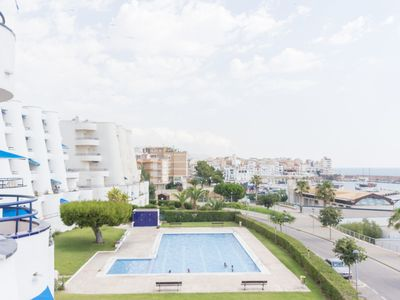 Photo for TOP-QUALITY APARTMENT WITH VIEWS TO THE SEA, WIFI AND AIR_ESTANY PART SUR