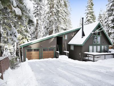 Photo for Wonderful Tahoe Donner Home with Hot Tub!