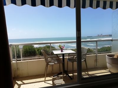 Photo for Sea and beach, T2, 2nd floor, balcony, PK, shops 100m