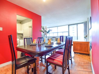 Photo for Spacious 2 Bedrooms  Luxury Condo With Parking Located On Yonge Street
