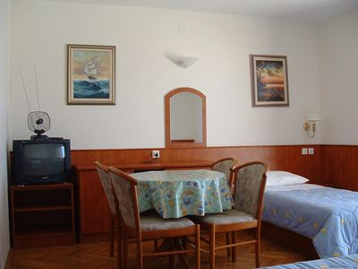 Photo for Studio flat with balcony and sea view Lokva Rogoznica, Omiš (AS-14853-a)