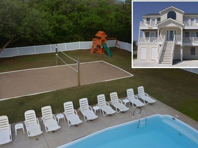 Photo for K1801 King BEEch. Pool, Hot Tub, Volleyball, Pets OK/Fenced Yard, Ocean Views