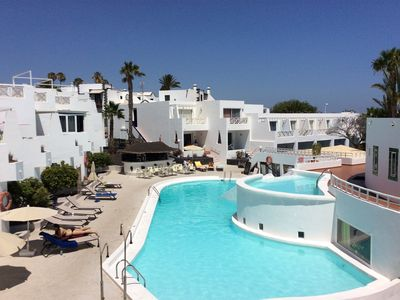 Photo for Delightful apartment with terrace overlooking the sea - Puerto del Carmen