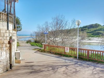 Photo for One step from the sea, apartment with fully equipped pool.