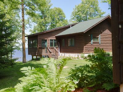 Photo for Spacious new cabin on Big Sandy- Ice/Fish House access included!