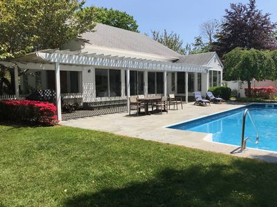Photo for Perfect get away in the Hamptons with Pool & Tennis