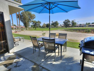 Photo for Country Club Living At The Palm Desert Resort! Golf Course Frontage With Views!