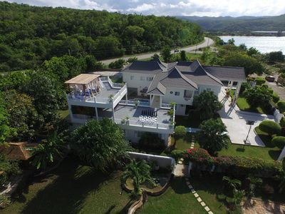 Photo for Family Fun! Rooftop Movie Nights, Chef, butler, Tennis, Paddle boards,Kayaks,Spa