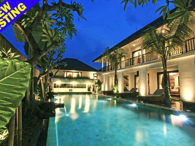 Photo for Brand New 7 Bedroom villa w/ DJ Room & Bar, Canggu;